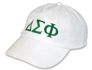 Delta Sigma Phi Letter Hat