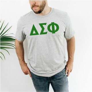 Delta Sigma Phi letter tee