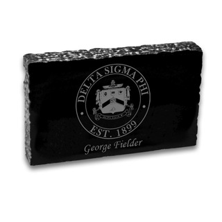 Delta Sigma Phi Marble paperweight