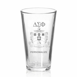 Delta Sigma Phi Mixing Glass