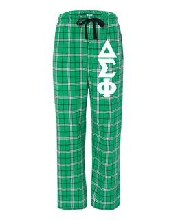 Delta Sigma Phi Pajamas Flannel Pant