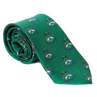 Delta Sigma Phi Repeating Crest Tie