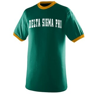 Delta Sigma Phi Ringer T-shirt