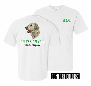 Delta Sigma Phi Stay Loyal Comfort Colors T-Shirt