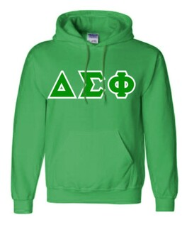 Delta Sigma Phi Sewn Lettered Sweatshirts