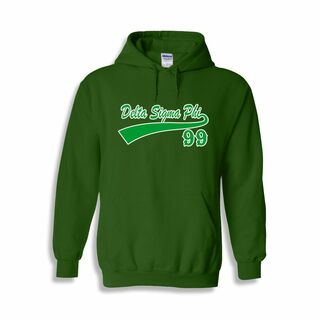 Delta Sigma Phi tail Hoodie