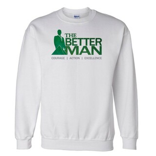 Delta Sigma Phi The Better Man Crewneck Sweatshirt