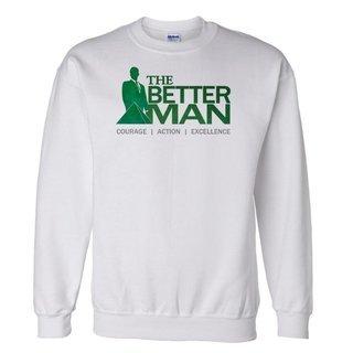 Delta Sigma Phi The Better Man Crewneck Sweatshirt