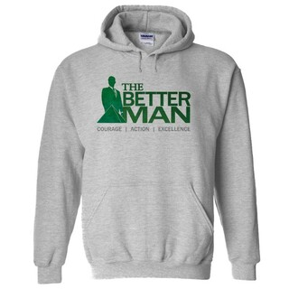Delta Sigma Phi The Better Man Hooded Sweatshirt