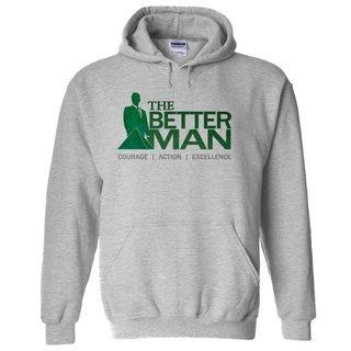 Delta Sigma Phi The Better Man Hooded Sweatshirt