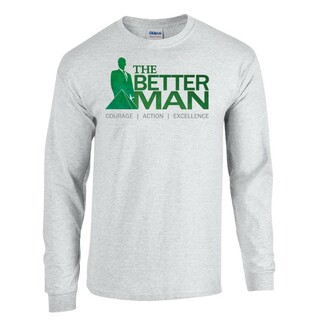 Delta Sigma Phi The Better Man Long Sleeve Tee