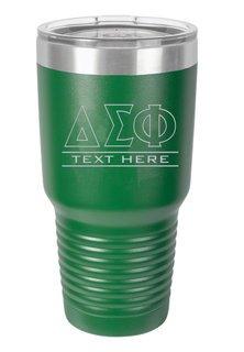 Delta Sigma Phi Vacuum Insulated Tumbler