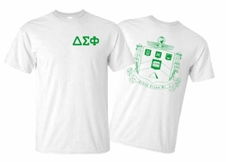 Delta Sigma Phi World Famous Greek Crest T-Shirts - MADE FAST!