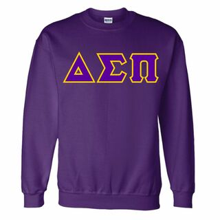 Delta Sigma Pi Custom Twill Crewneck Sweatshirt