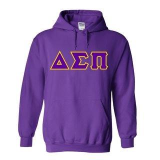 Delta Sigma Pi Custom Twill Hooded Sweatshirt