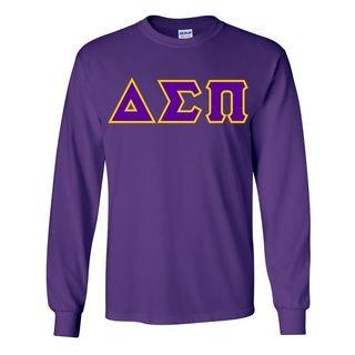 Delta Sigma Pi Custom Twill Long Sleeve T-Shirt