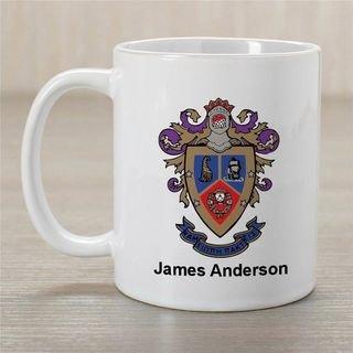 Delta Sigma Pi Greek Crest Coffee Mug - Personalized!