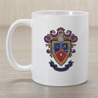 Delta Sigma Pi Greek Crest Coffee Mug