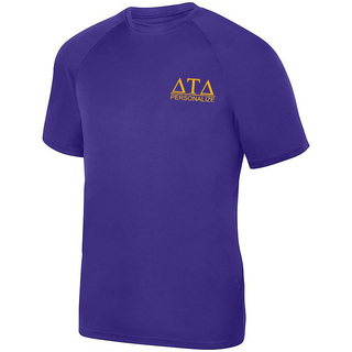 Delta Tau Delta- $15 World Famous Dry Fit Wicking Tee