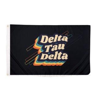 Delta Tau Delta 70's Flag