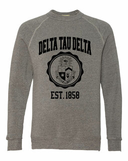 Delta Tau Delta Alternative - Eco-Fleece� Champ Crewneck Sweatshirt