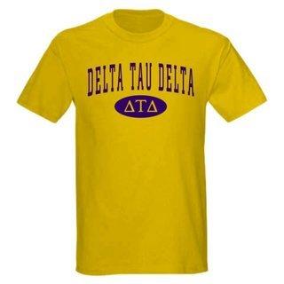 Delta Tau Delta arch tee