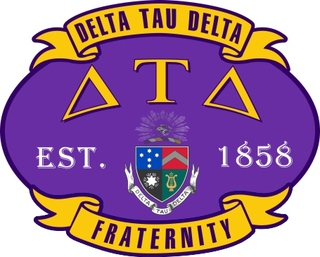Delta Tau Delta Banner Crest - Shield Decal