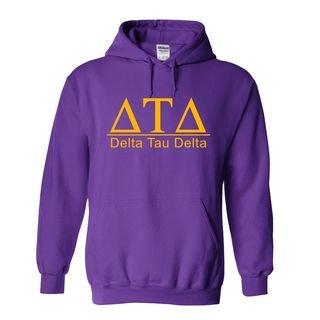 Delta Tau Delta bar Hoodie