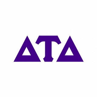Delta Tau Delta Big Greek Letter Window Sticker Decal
