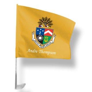 Delta Tau Delta Car Flag