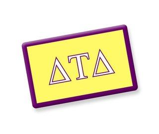 Delta Tau Delta Ceramic Flag Magnet