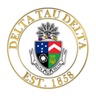 Delta Tau Delta Circle Crest - Shield Decal