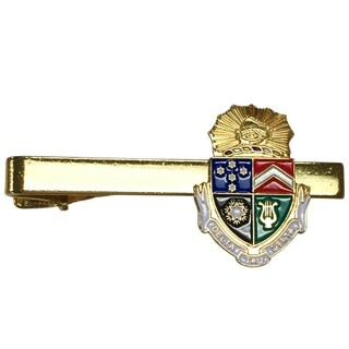 Delta Tau Delta Color Crest - Shield Tie Clips