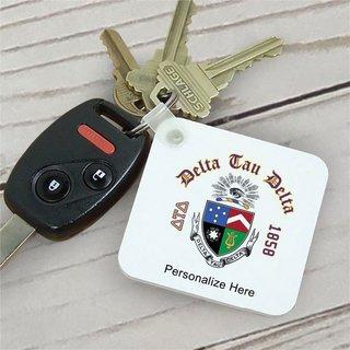 Delta Tau Delta Color Keychains