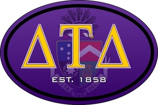 Delta Tau Delta Color Oval Decal