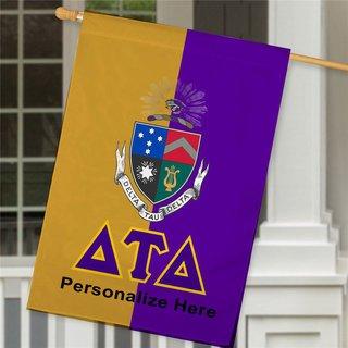 Delta Tau Delta Crest House Flag
