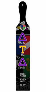 Delta Tau Delta Custom Full Color Paddle