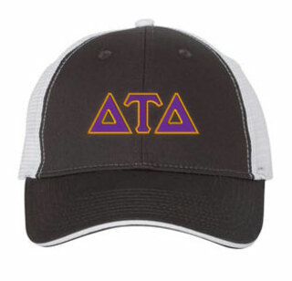 Delta Tau Delta Double Greek Trucker Cap