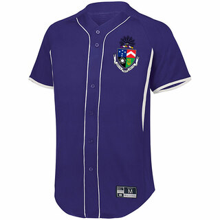 Delta Tau Delta Game 7 Full-Button Baseball Jersey