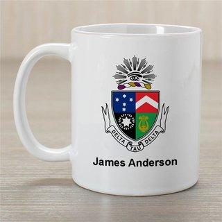 Delta Tau Delta Greek Crest Coffee Mug - Personalized!