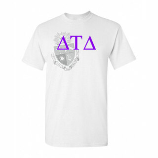 Delta Tau Delta Greek Crest - Shield T-Shirt