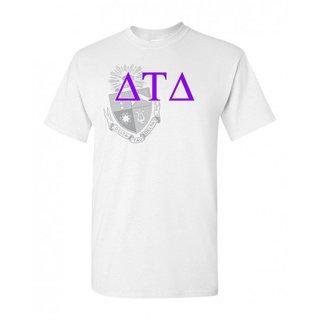 Delta Tau Delta Greek Crest - Shield T-Shirt