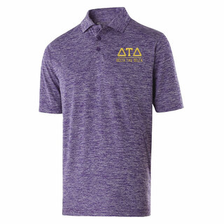Delta Tau Delta Greek Letter Electrify Polo