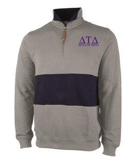 Delta Tau Delta Greek Letter Quad Pullover