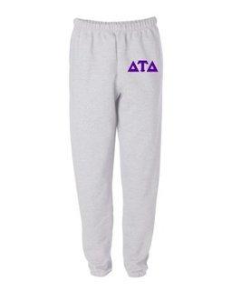 Delta Tau Delta Greek Lettered Thigh Sweatpants