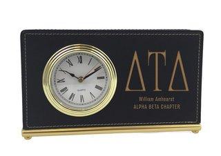 Delta Tau Delta Horizontal Desk Clock