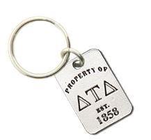 Delta Tau Delta Keychains