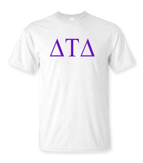 Delta Tau Delta Lettered Tee - $9.95!