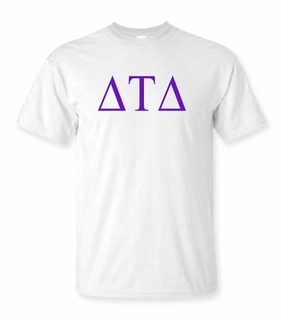 Delta Tau Delta Lettered Tee - $9.95! - MADE FAST!