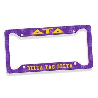 Delta Tau Delta Custom License Plate Frame